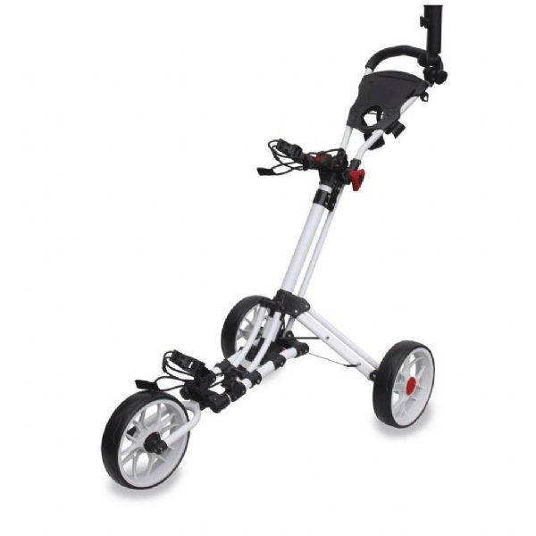 EZE-GLIDE Smart Fold Golf Trolley Premium 3 Wheel Push Trolley